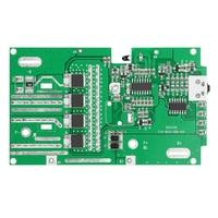 For RYOBI 18V /P103 /P108 Battery Protection Circuit Board PCB Board Plastic Battery Case PCB Box Shell Accessories Kit