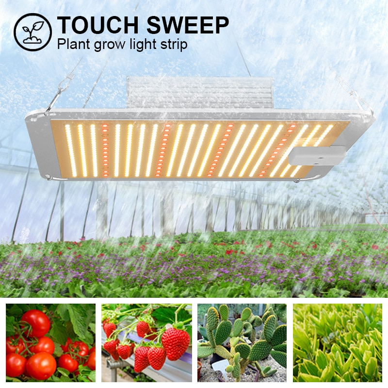 Brand New 1000W Dual Control Growth Light Indoor Plant LED Plant Light Fill Light High Power Plant Light Greenhouse Plant
