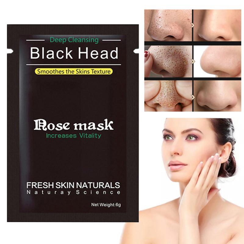 Facial Mask Blackhead Remover Treatments Acne Nose Face Care Deep Clean Peel Off 1pcs Blemish Remove