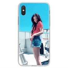 الأحمر المخملية Kpop فتاة شخصية سيليكون الهاتف حقيبة لهاتف سامسونج غالاكسي ملاحظة 2 3 4 5 8 9 S2 S3 S4 S5 البسيطة S6 S7 حافة S8 s9 plus