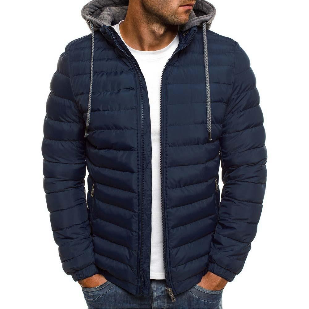 2021 зимние куртки с капюшоном, стеганая куртка, мужские теплые легкие парки, новые мужские ветрозащитные куртки