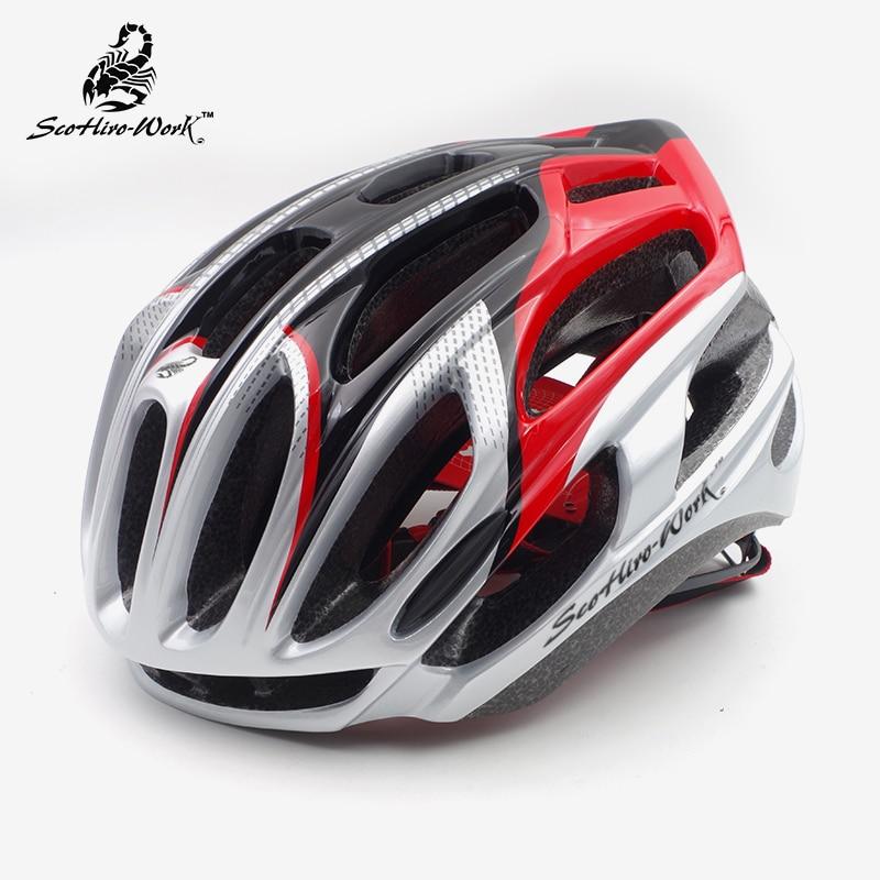 Casco ultraligero para bicicleta de montaña para hombre y mujer, equipamiento aerodinámico...