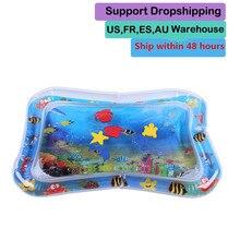 Sommer aufblasbare wasser matte für babys Sicherheit Kissen Eis Matte Frühen Bildung Spielzeug Spielen für babys