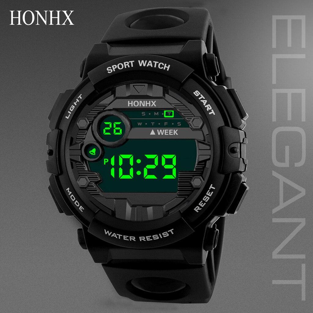 Luxury Men Digital Led Watch Waterproof Sport Men Outdoor Date Electronic Watches Wrist Watch Clock Male Часы Мужские Наручные