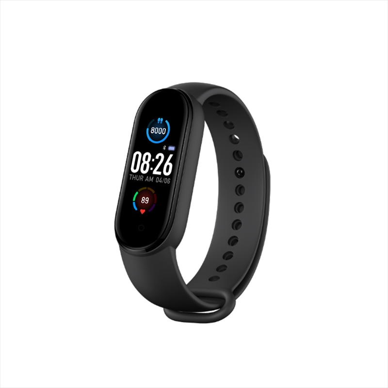 M5 Smart Band Men Women M5 Smart Watch Heart Rate Blood Pressure Sleep Monitor Pedometer Bluetooth5.0 Connection for IOS Android