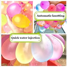 1110Pcs Water Balloons for Kids Boys Balloons Set Party Game Quick Fill Balloon 1110 Bunches for Sum