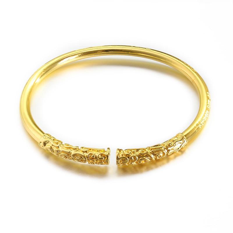 Модный 3 цвета браслет Король обезьяны Sun Wukong Золотой Cudgel Открытый браслет манжета для мужчин и женщин браслеты ювелирные изделия