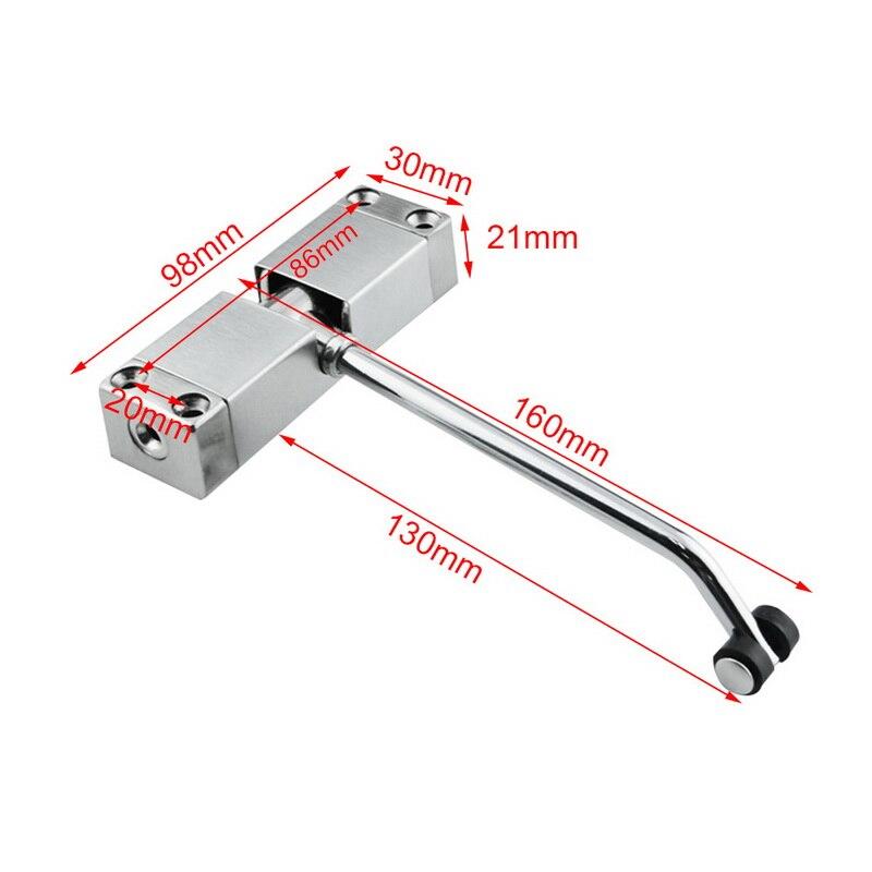 جديد الفولاذ المقاوم للصدأ التلقائي شنت الربيع الباب أقرب قابل للتعديل سطح الباب أقرب الأجهزة المنزلية الباب
