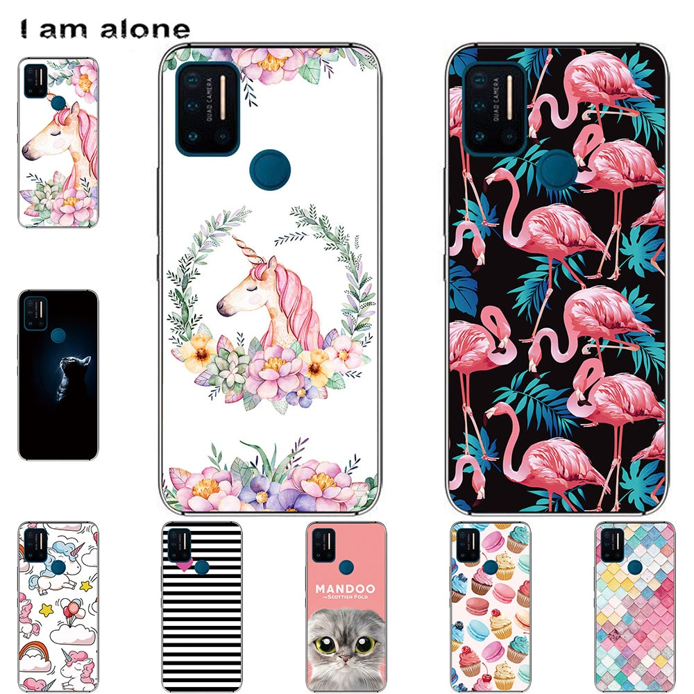 Phone Cases For Umidigi A7 A7 Pro A7S A9 Pro Soft TPU Back Cover Color Luxury popular Printing Mobil