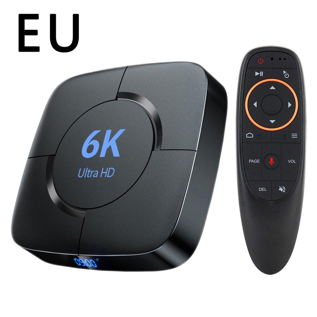 جديد H616 الاتحاد الأوروبي الولايات المتحدة نوع مربع التلفزيون الذكية 6K مجموعة مشغل وسائط تي في بوكس عالية الوضوح شبكة جهاز استقبال رقمي دعم TF ...
