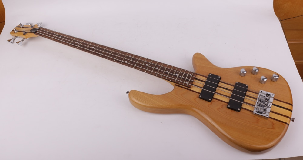 good quality neck thru body electric bass guitar free shipping enlarge