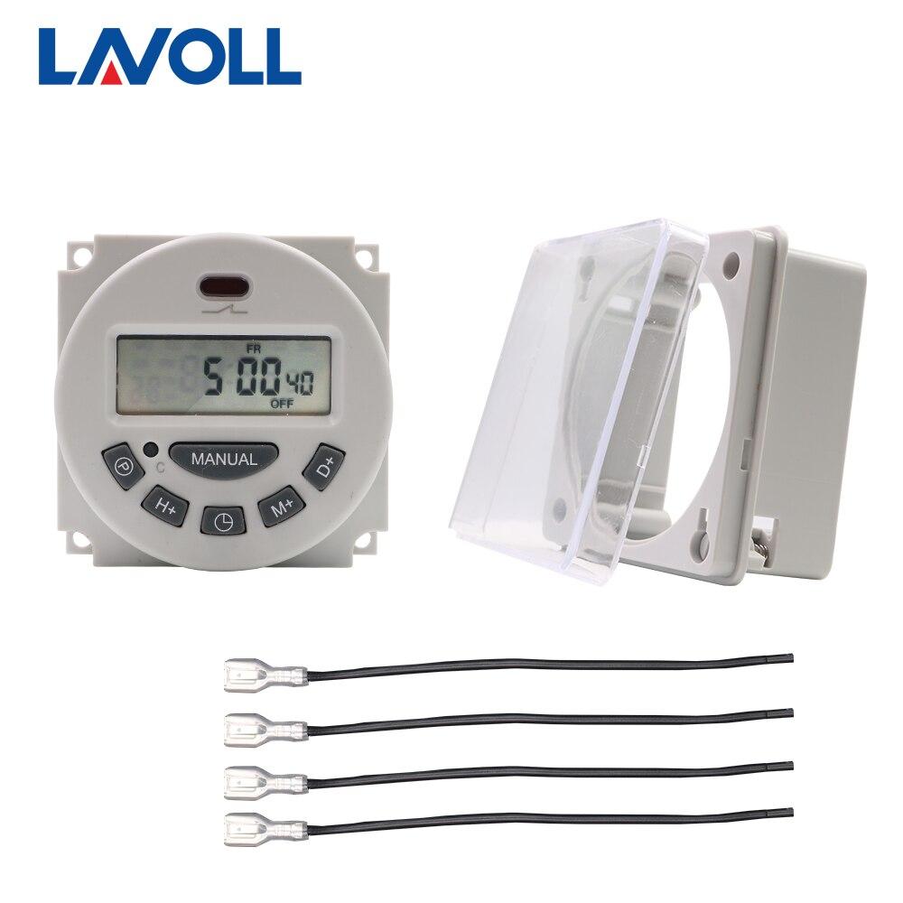 Temporizador eléctrico, temporizador, interruptor, temporizador, horno, temporizador, 12v, 220v