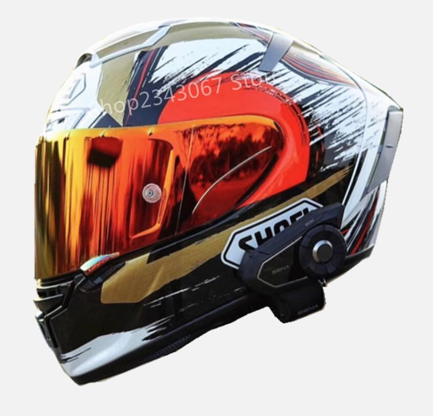 خوذة لكامل الوجه الآمن سباق X12 X14 93 سحب الدب القط نموذج موتور دراجة نارية قبعة آمنة ECE22 05 خوذة آمنة السفينة
