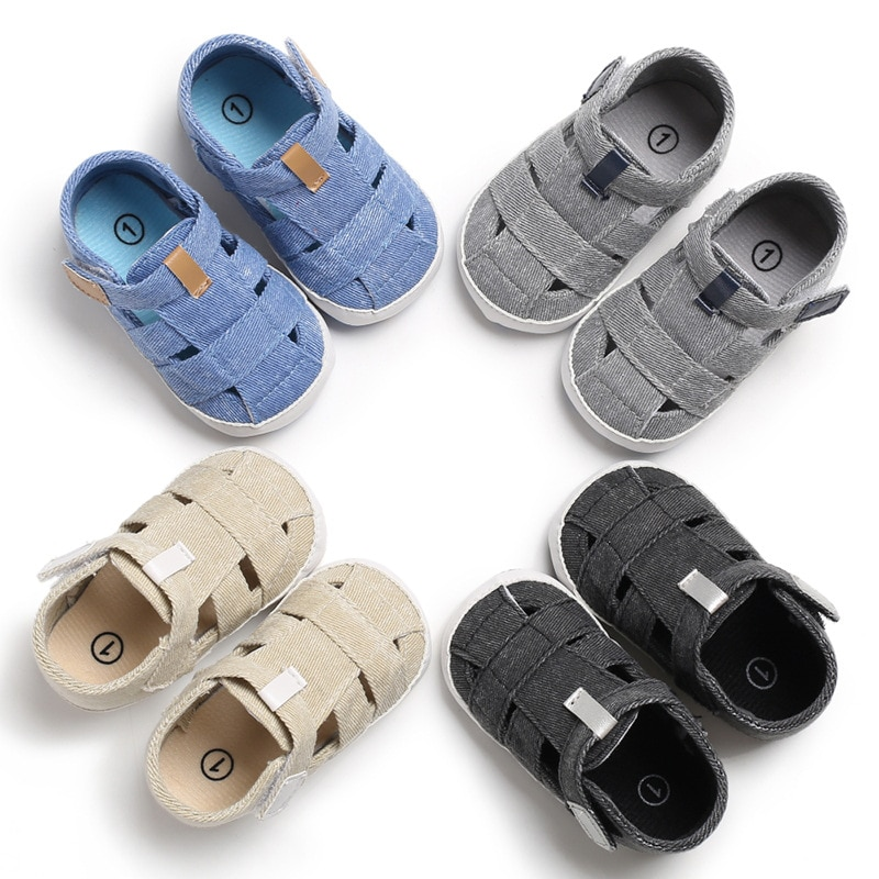 Baby Boys Sandals Toddler Summer New Kids Students Leather Beach Holiday Shoes Newborn Baby Shoes Fo