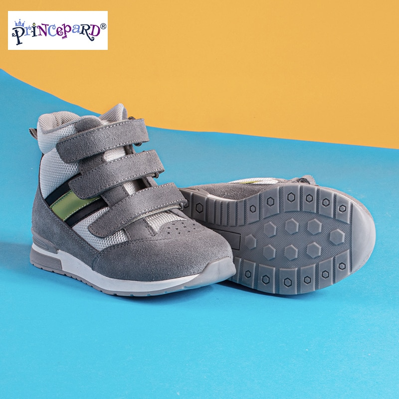 Princepard Orthopedic Shoes for Children with Ankle Support Kids Sneakers Shoes Babies Kids  Girls Boys First Walkers Shoes enlarge