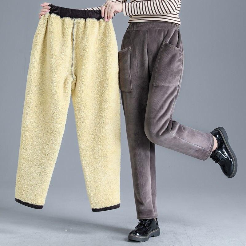 Pantalones De Pana Vintage Para Mujer Pantalon De Terciopelo Con Bolsillos Grandes Holgados Informales Bombachos De Estilo Coreano Otono E Invierno 2020 A Anvas Info