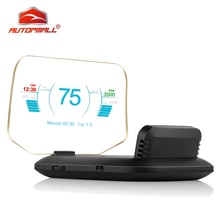 Auto Projector Speedometer HUD Electronics Head Up Display Car GPS HUD Speed Warning C1 Windshield OBD Car Security Display