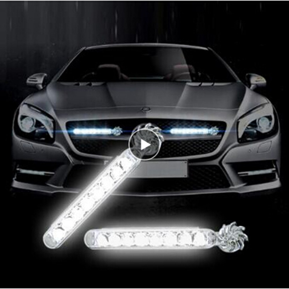 1 Pair LED Wind Powered Car Lamp Vehicle Light for Subaru Forester Outback Legacy Impreza XV BRZ Tribeca Trezia