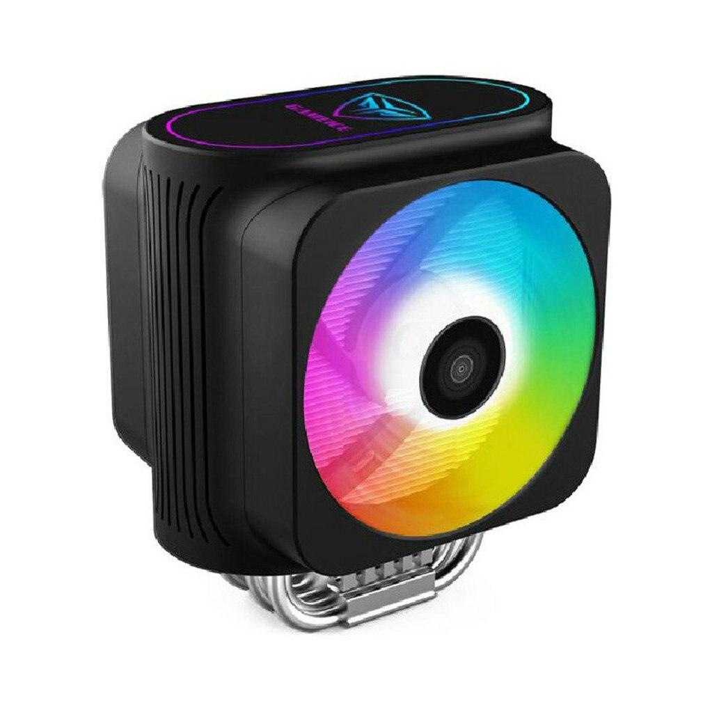 12cm LED Fan 120mm 3PIN/4PIN/6PIN PC Desktop Computer Case Cooling Cooler Fan 6 Heat Pipes GPU CPU Cooler Double Halo Light