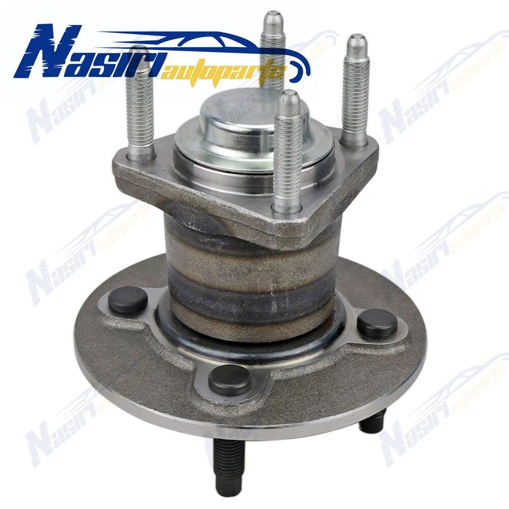 Cubo de rueda trasera y rodamiento izquierdo o derecho para cobalto G5 Ion Pursuit w/o ABS 2003 2004 2005 2006 2007 2008 2009 2010