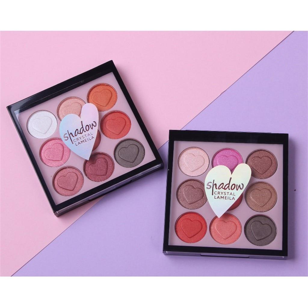 1X9 colores cosméticos sombra de ojos paleta de maquillaje sombras de ojos profesional G925