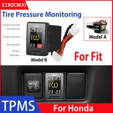 Car Electronics OBD TPMS Tire Pressure Monitoring System For Honda Fit 2009-2019 2020 security alarm