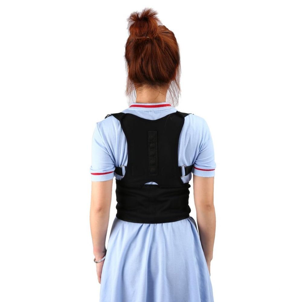Cinturón corrector de postura espalda soporte corrector de espalda banda moldeadora espalda curva corsé PARA LA chepa cuerpo Shaping dispositivo hombres mujeres