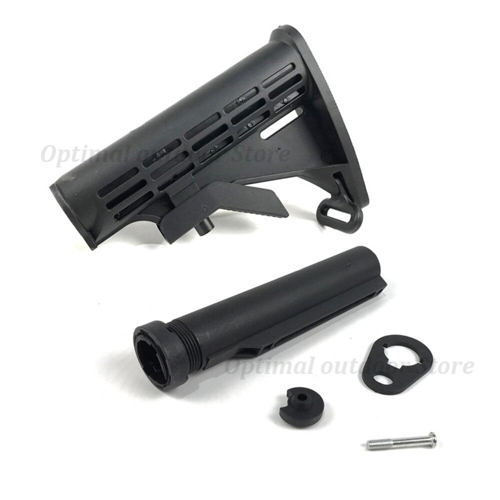 Totrait 1 pc buttstock/buffer tubo para jm9 m4a1 jogo de água gel bola blasters armas brinquedo acessórios substituição