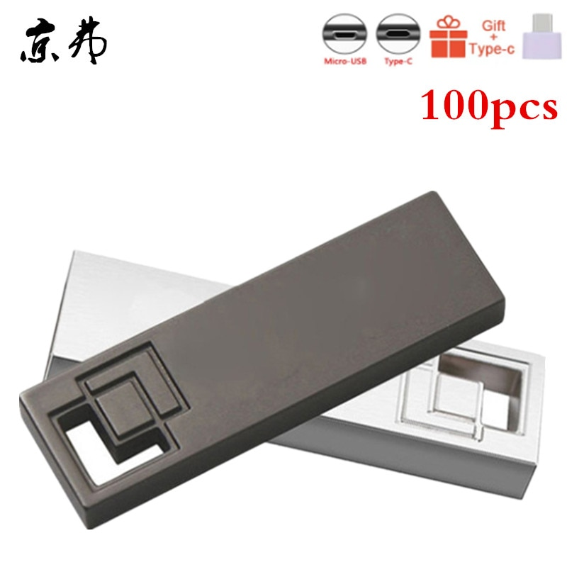 100pcs/Lot Hot Selling Usb Flash Drive Pen Drive 4GB 8GB 16GB 32GB Waterproof Metal Pendrive 512MB Memory Stick U Disk Free Logo