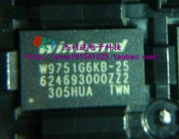W9751G6KB-25 FBGA84 nuevo punto original