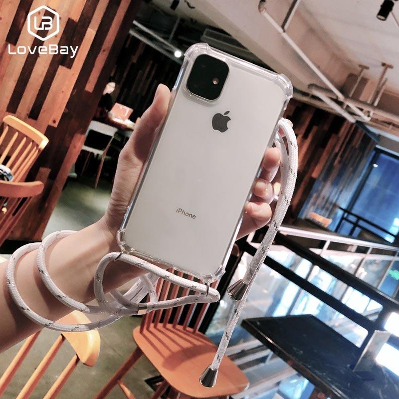 Чехол для iPhone 11 7 8 Plus 11Pro X XR XS Max мягкий прозрачный чехол-накладка для переноски
