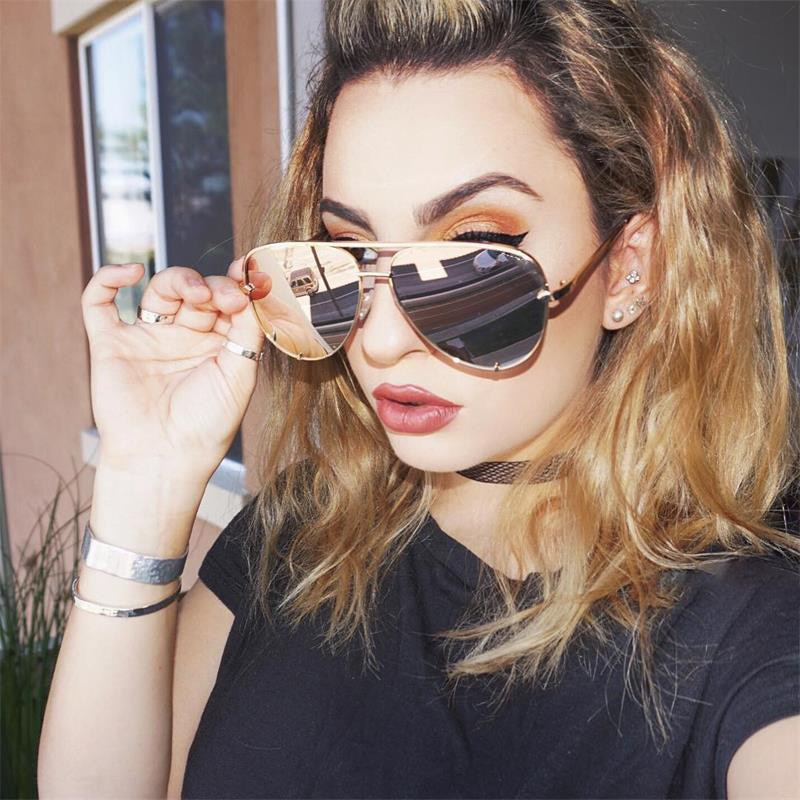 New Fashion Aviation Sunglasses 2021 Women Men Classic Brand Designer Pilot Sun Glasses Retro Outdoo