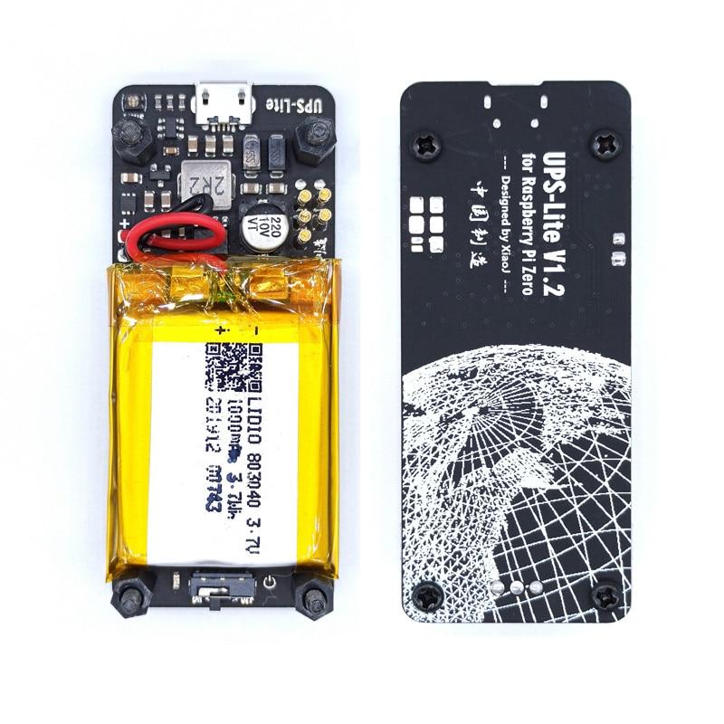 New UPS Lite V1.2 UPS 18650 Power HAT Board With Battery Electricity Detection For Raspberry Pi Zero Zero W 4 3B+