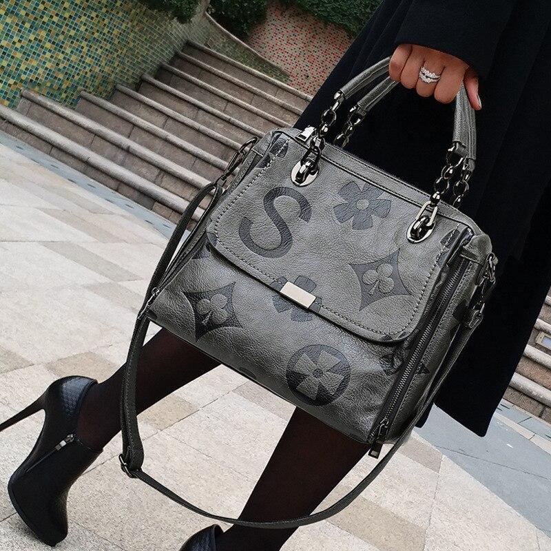 عالية الجودة جلد طبيعي النساء حقائب الموضة رسالة حقائب كتف متنقلة الشهيرة مصمم سعة كبيرة حقائب اليد