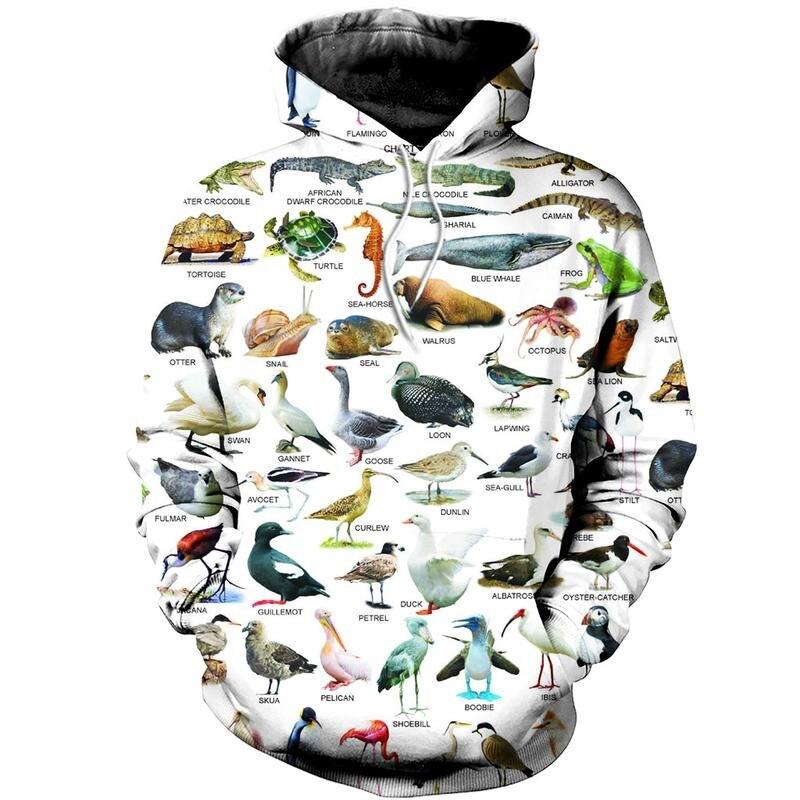 Мужские топы, красивые узоры с 3d принтом животных, модные уличные толстовки/пуловеры унисекс толстовки/толстовки на молнии