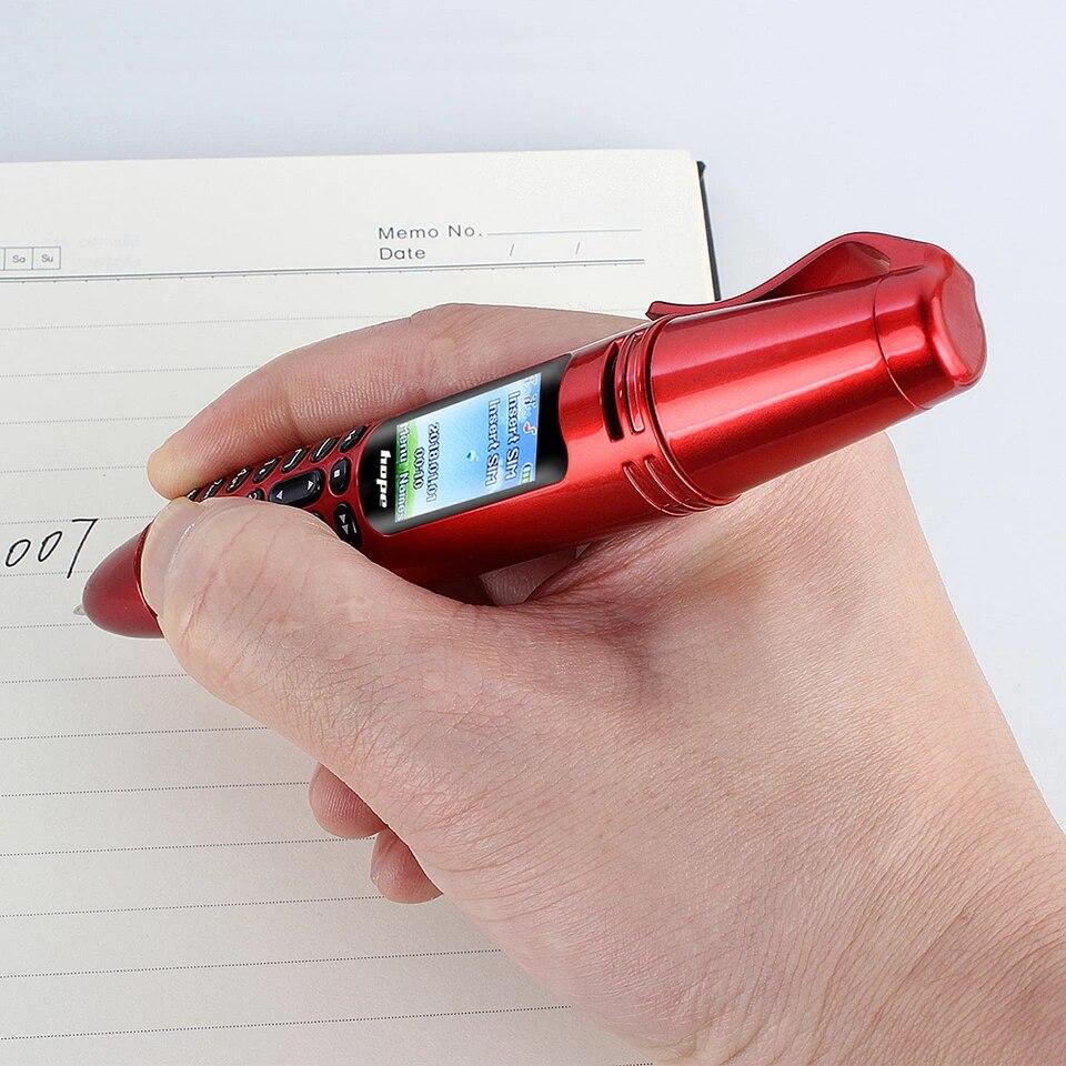 Мини портативный карманный фонарик AK007, миниатюрный Bluetooth-номеронабиратель, мобильный единоромный резервный маленький телефон