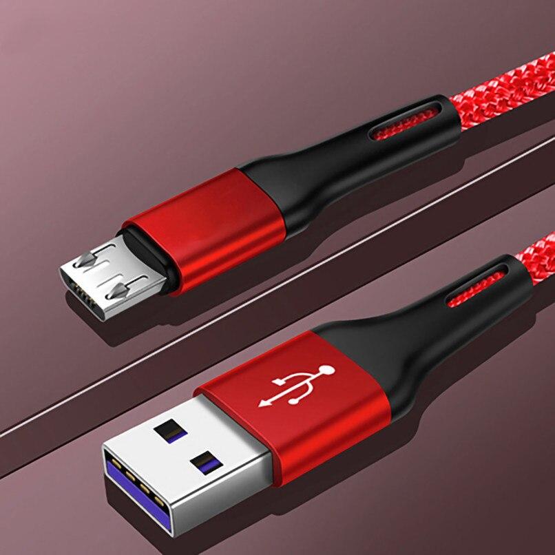Acgice-Cable MicroUSB 3A de carga rápida para Samsung, Huawei, Xiaomi, Tablet, Android,...