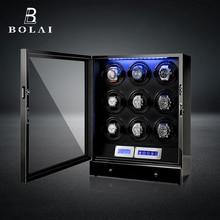 Automatic Watch Winder Watches Safe Box Drawer Store Jewelry Quiet Japanese Mabuchi Motor Watch Stor
