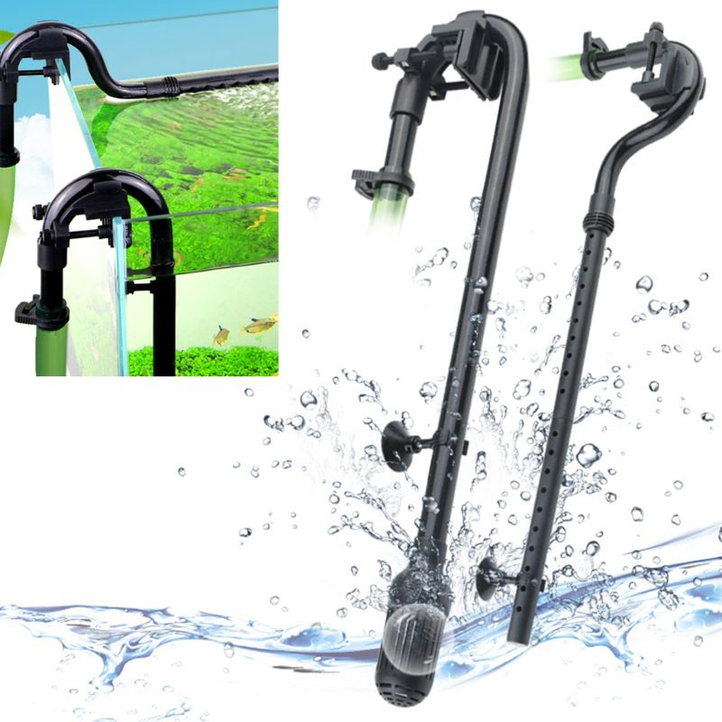 2020 nuevo Kit de tubo de entrada de agua para acuario, accesorios de tubería de agua de Filtro externo para pecera