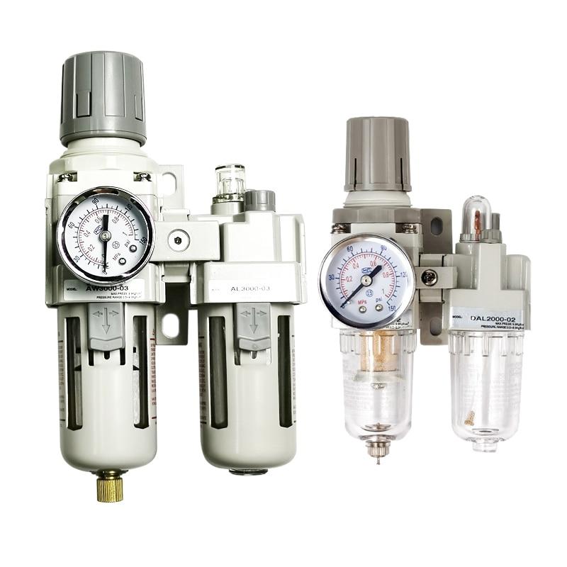 AC2010-02 AC3010-03 AC4010-04 هوائي منظم ضغط فاصل مياه زيتية دليل الصرف ضاغط الهواء فلتر الرطوبة