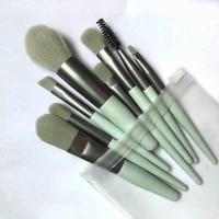 makeup brushes set 8 13pcs professional make up brush natural hair foundation powder eye shadow blushes smooth beauty brochas