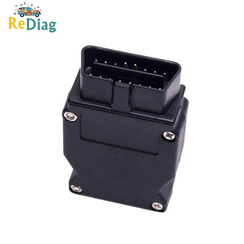 Free Shipping OBD OBDII Adapter For BMW ENET Ethernet OBD OBD2 16Pin Connector Adapter For BMW Car Diagnostic Tool
