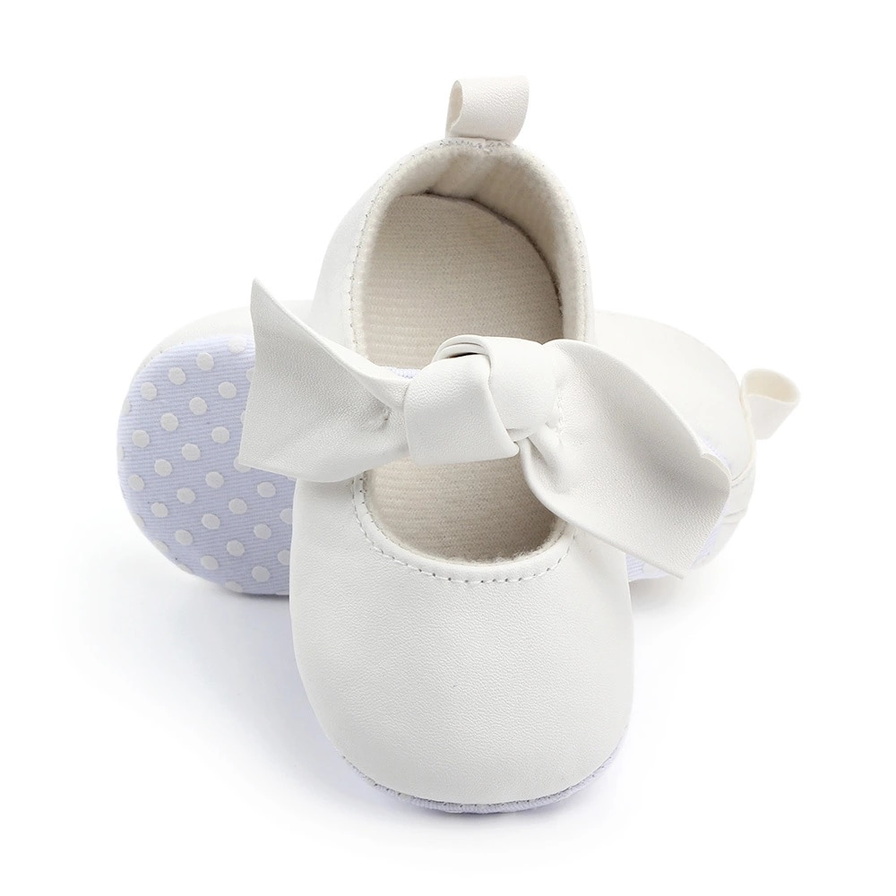 Leather Girls Shoes Casual Shoes For Baby Princess Shoes for Kids Children First Walking Shoes
