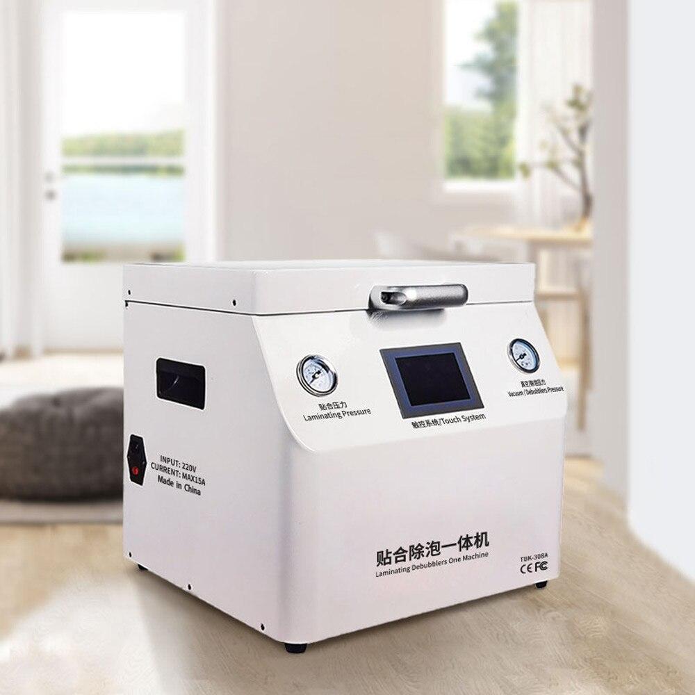 OCA Lamination Defoaming Integrated Machine Vacuum laminating machine  Large size flat panel pressing machine