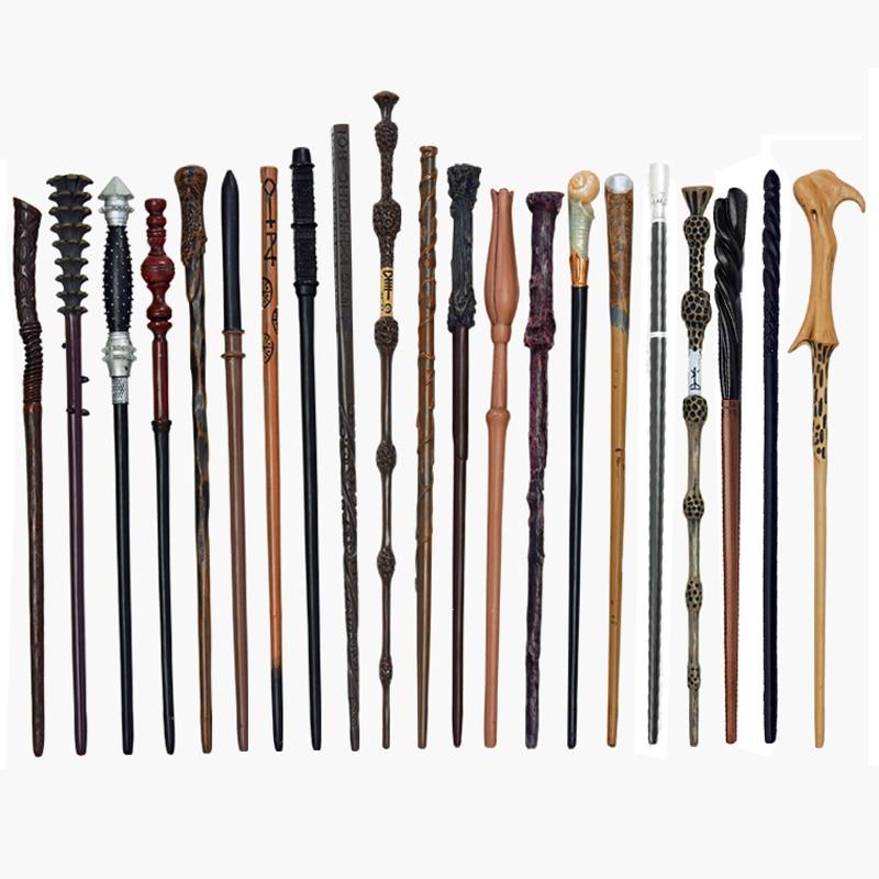 28 видов волшебной палочки s Косплей Harried Дамблдор вольдморт Снейп металл/Железный сердечник волшебная палочка без коробки Рождественский п...