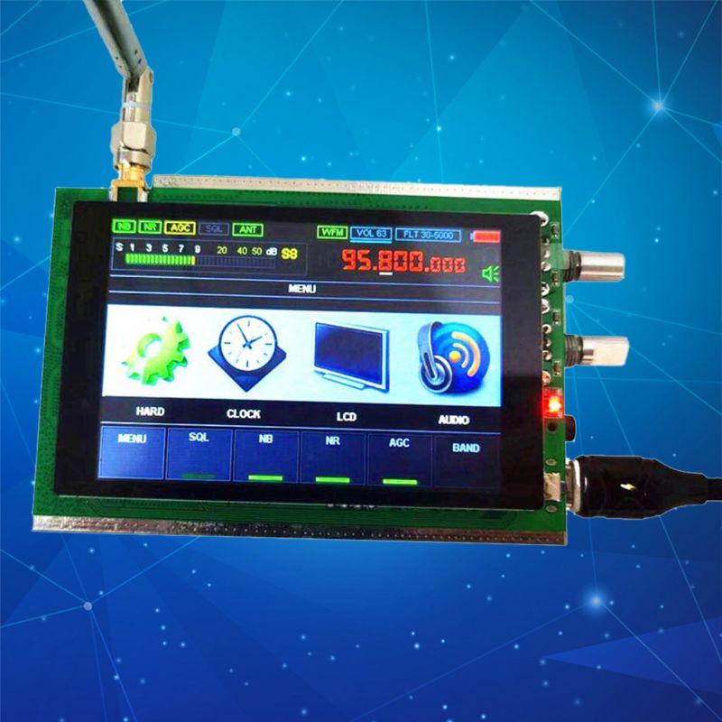 Receptor y receptor de Radio de onda corta malaquita SDR, de 50KHz-200MHz, con DSP HAM, pantalla LCD de 3,5 pulgadas, alta calidad y nuevo