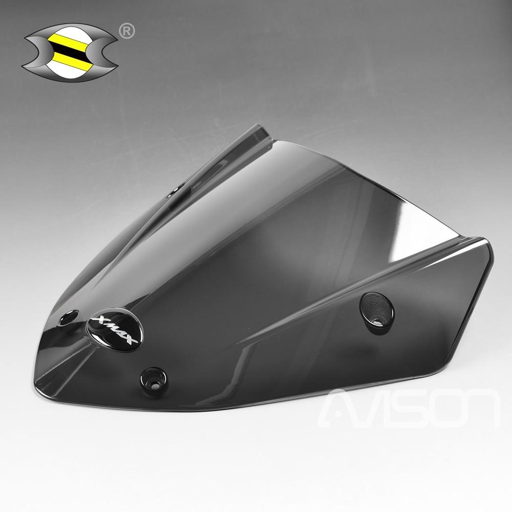 Modificado motocicleta xmax300 xmax windscreen windscreen defletores de vento placa para xmax 300 250 2017 2018 2019