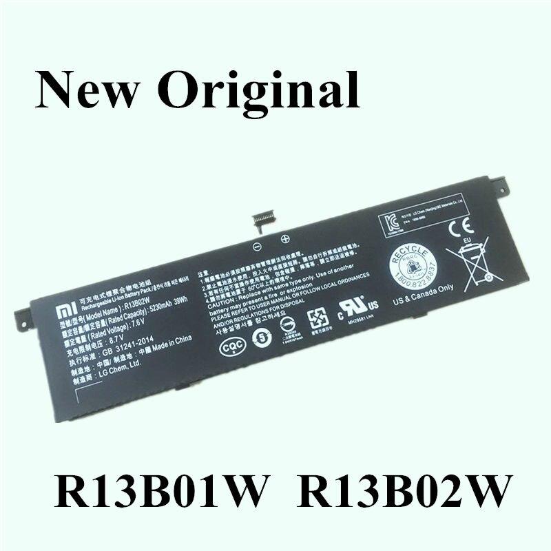 """Новый оригинальный ноутбук Замена литий-ионная батарея для Xiaomi Mi Air 13,3 """"серии Tablet R13B02W R13B01W"""