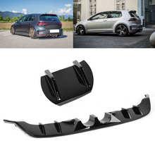 Gloss Black R400 Stijl Achterbumper Diffuser Volant Voor Volkswagen Golf MK7.5 R Gti Gtd 2017-2020