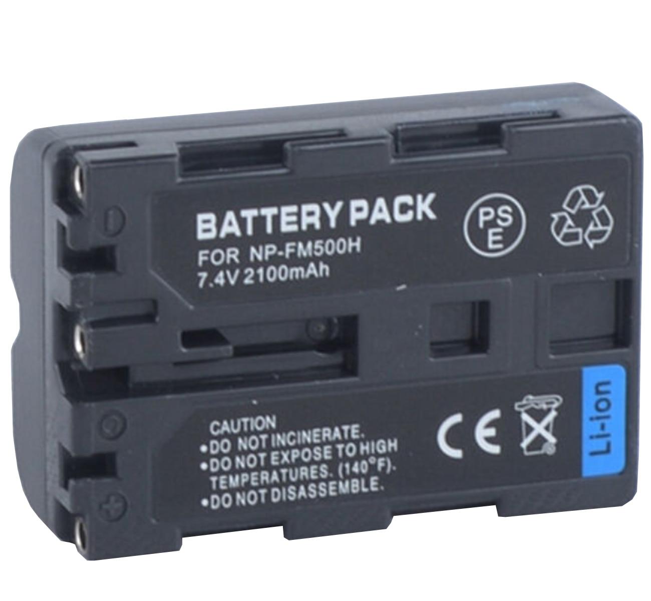 Paquete de baterías para Sony Alpha SLT-A57, A58, A65, A77, A77 II,...